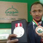 Arman Setyawan, tuna grahita yang berprestasi dalam berbagai kejuaraan renang tingkat nasional.